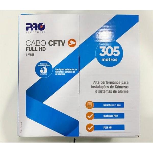 12364 - CABO CFTV 305 METROS 24 AWG
