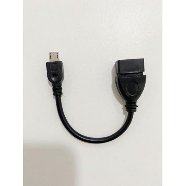 13394 - CABO USB FEMEA X V8 MACHO OTG