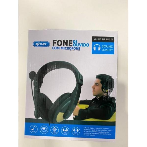 18162 - FONE HEADSET COM MICROFONE KP-320