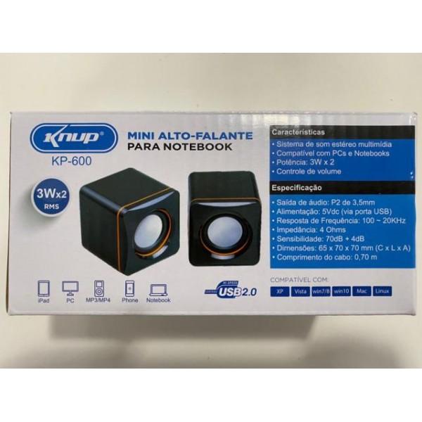 24091 - CAIXA DE SOM PC KP-600